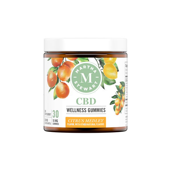 MARTHA STEWART CBD WELLNESS CITRUS MEDLEY GUMMIES 300mg