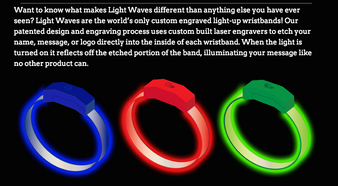 LED, wristband, wholesale, pricing, bulk, LED Bands, Band, personalized, custom, brandingLED, bride, groom, Light up, Light, Iluminated, Glow, Wristband, wrist Band, Bracelet, Band, Personalized, Custom, LED Wristband, VIP, Logo, Name, Art