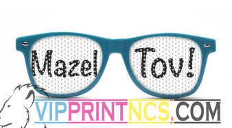 MAZEL TOV CUSTOM SUNGLASSES