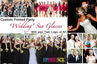 80 PACK WEDDING CUSTOM SUNGLASSES PARTY FAVORS
