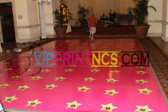 CUSTOM DANCE FLOOR VINYL DECOR BIRTHDAY SWEET 16