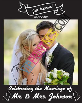 WEDDING CUSTOM BOARD PHOTO BOARD
