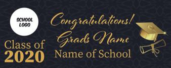 Graduation Banners 2 X 5 FT