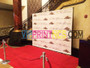 10' X 10' STEP & REPEAT BACK DROP NO GLARE MATTE NIGHT CLUBS
