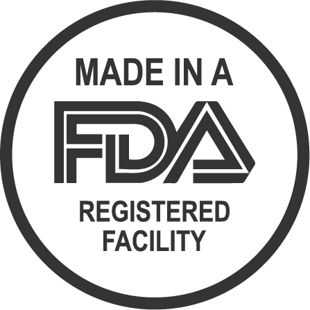 Made In A FDA Registered Facility