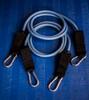 STRONG (4-6 lb) Resistance Bands - BLUE PAIR