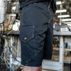 MIDNIGHT SHARKFIN CARGO SHORTS