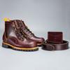 The OxBlood Boot Collection - Big Lug