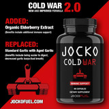 NEW & Improved Formula: Cold War 2.0 Now with Elderberry and Aged Garlic Extracts