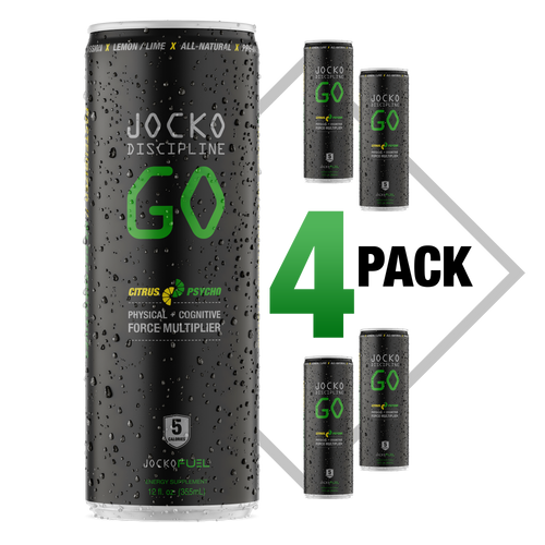 JOCKO GO DRINK - CITRUS PSYCHO - (Pack of 4)