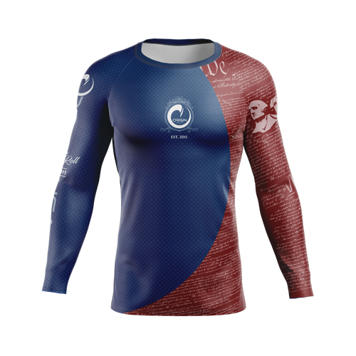 WE THE PEOPLE RASHGUARD