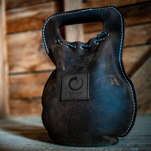 THE BURDEN - Leather Kettlebell