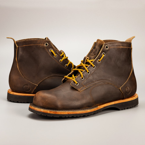 The Coronado Boot - Whiskey - Mini-Lug