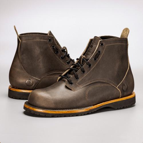 The Coronado Boot - Slate - Mini-Lug