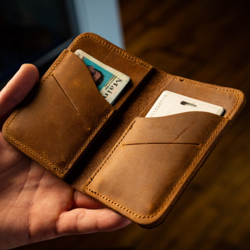 THE RAW EDGE BIFOLD WALLET