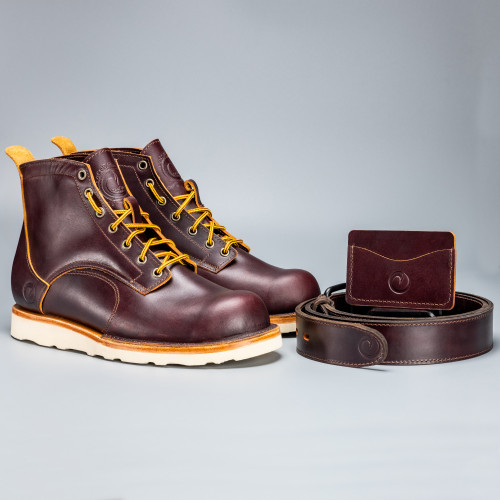 The OxBlood Boot Collection - Christy Natural