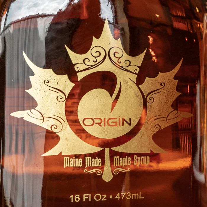 ORIGIN MAINE MADE MAPLE SYRUP