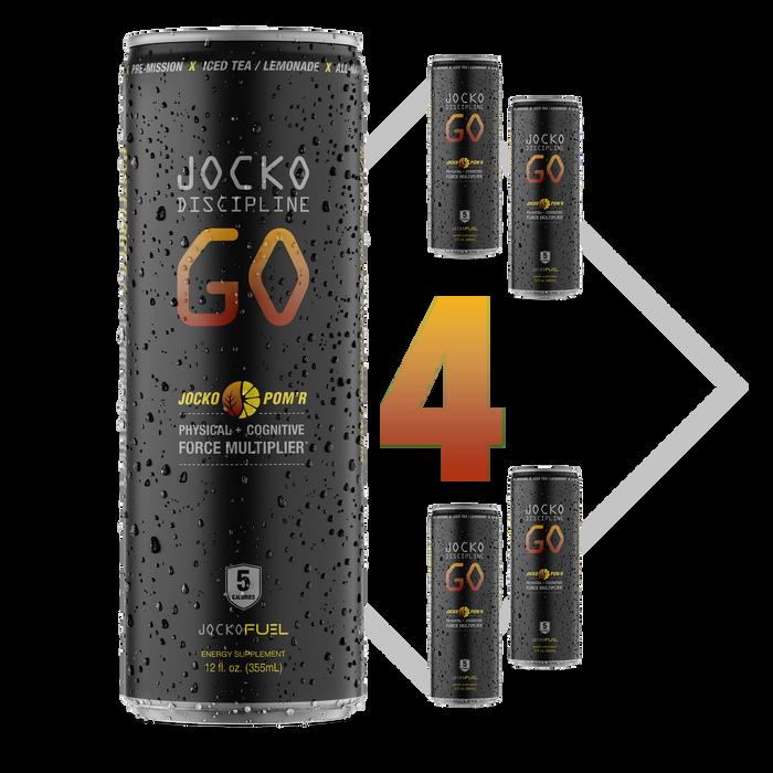 JOCKO DISCIPLINE GO DRINK - POMR - (Pack of 4)