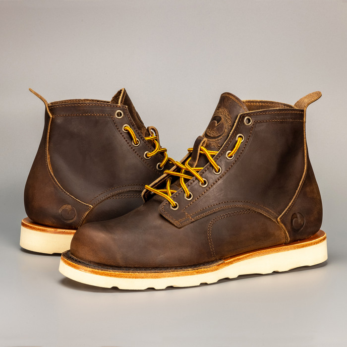 The Coronado Boot - Whiskey - Christy Natural