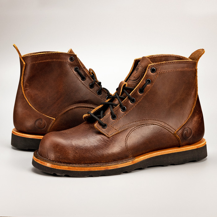 The American Bison Boot - Christy Black