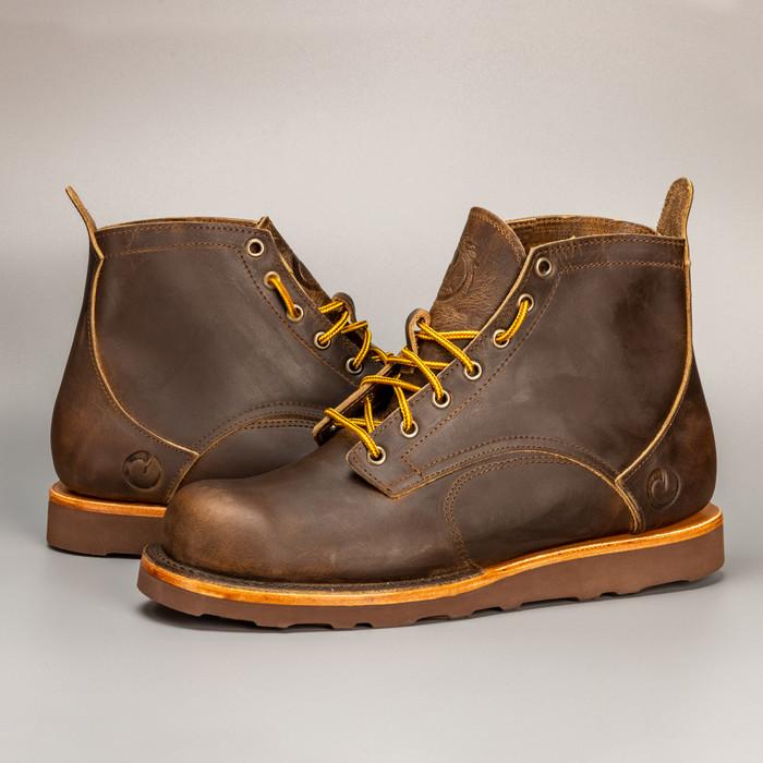 The Coronado Boot - Whiskey - Christy Brown