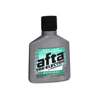 Afta Pre Shave Lotion and Skin Conditioners, Original - 3 oz