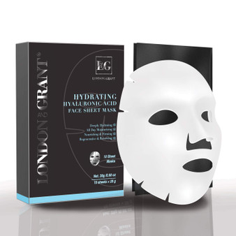 London and Grant Sheet Masks For Face - 10 Sheets