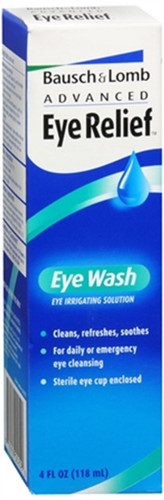 Bausch And Lomb Advanced Eye Relief Eye Wash 4oz
