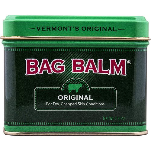 Vermont's Original Bag Balm for Dry Chapped Skin, 8 Oz