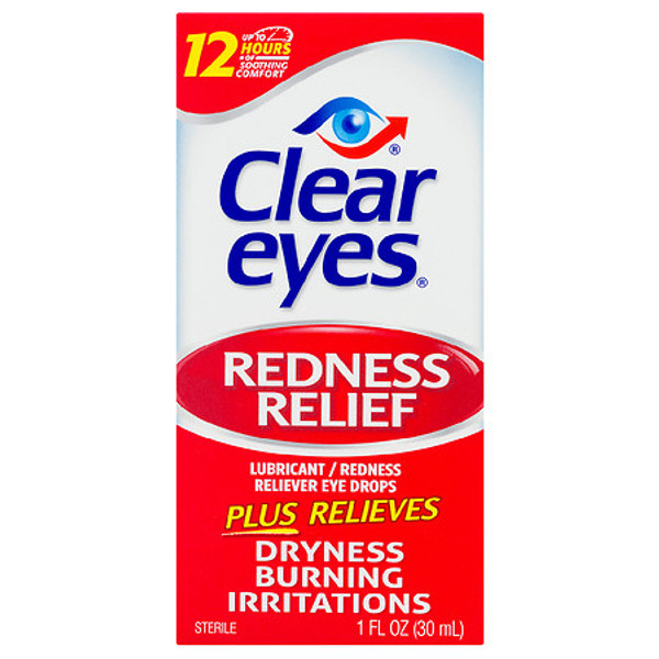 Clear Eyes Maximum Redness Relief Eye Drops  0.5oz