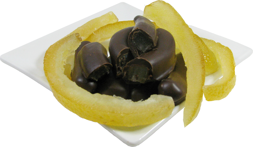 Chocolate Covered Orange Peel (18 ozs.)