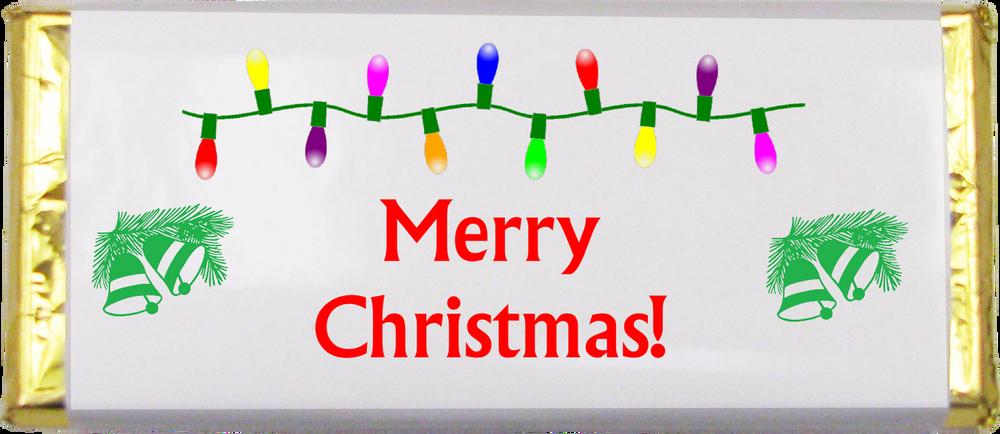Merry Christmas Chocolate Bar-1.5 oz.