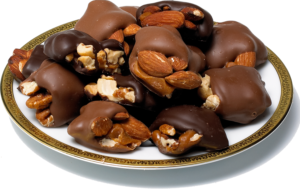 Assorted Caramel Nut Patties-(18 ozs. and 36 ozs.)