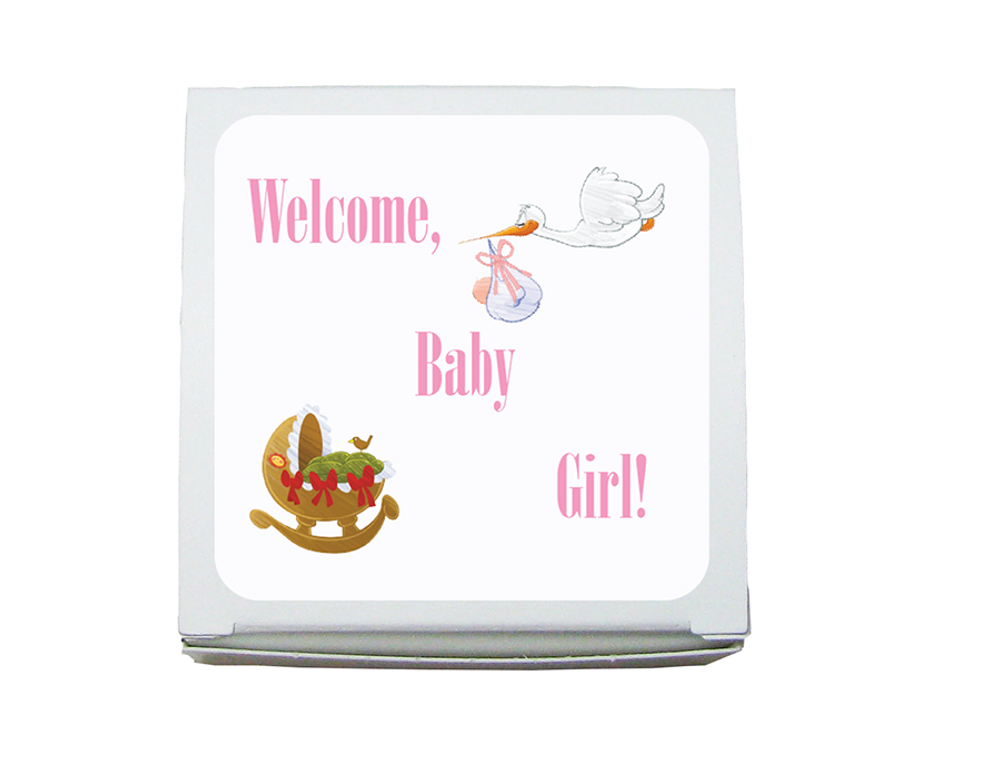 Mini Favor Box Baby Shower/Sprinkle-(1.5 ozs.)
