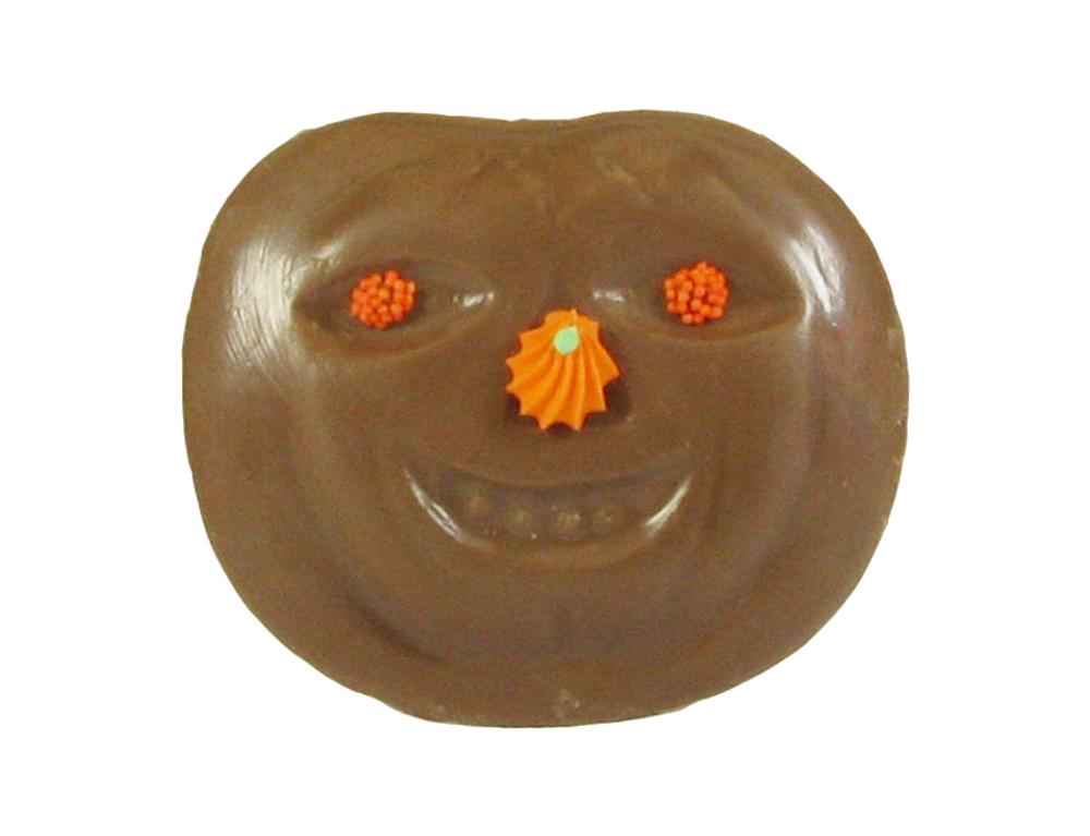 Solid milk chocolate Pumpkin Face.
