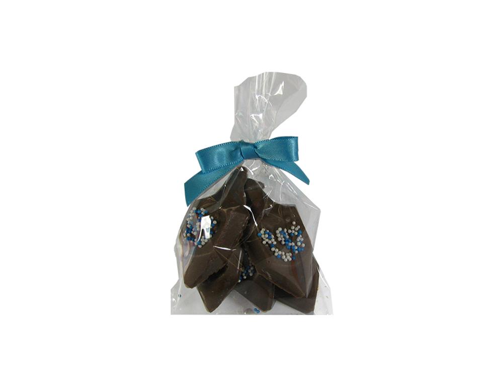 Solid Chocolate Mini Dreidels