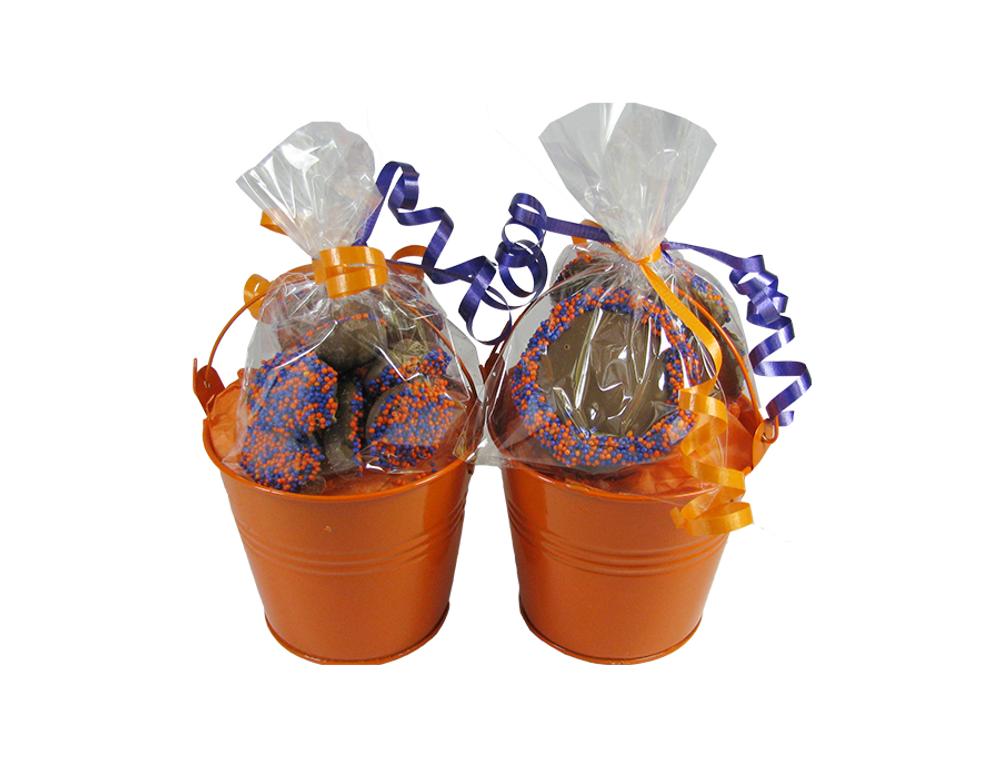 Orange Halloween  Mini-Pail