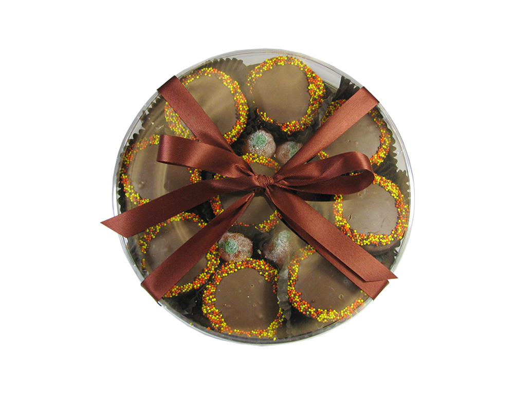Thanksgiving Oreo Round  Box