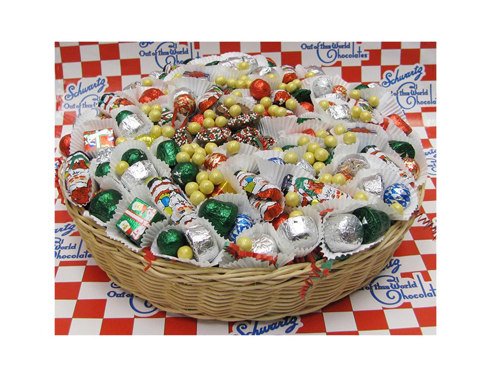 Christmas Basket  (12-inch Round)