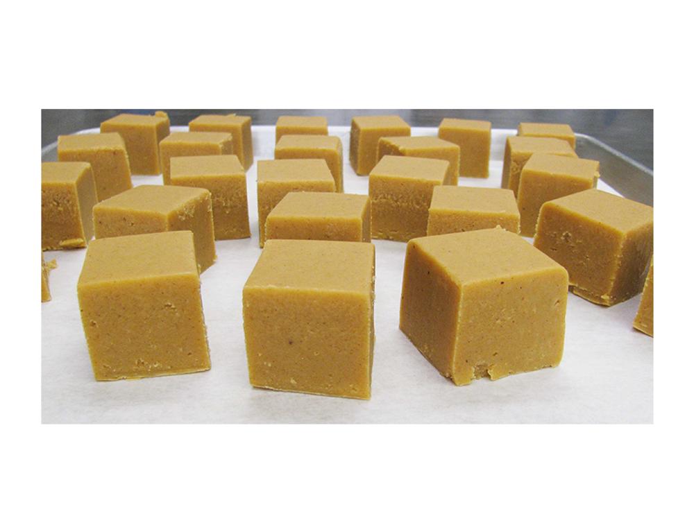 Pumpkin-Cinnamon-Nutmeg Fudge