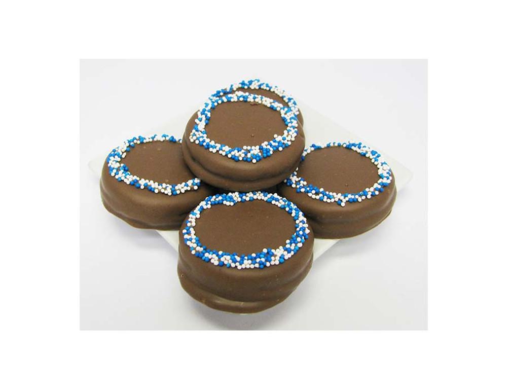 Chanukah Oreos in Round Box