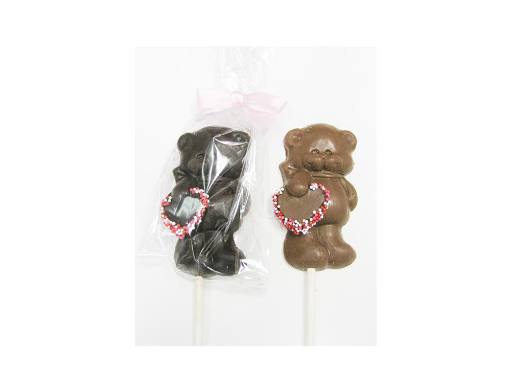 Bear Pop with Heart
