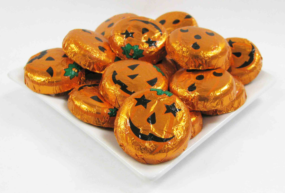Orange Halloween  Mini Pail