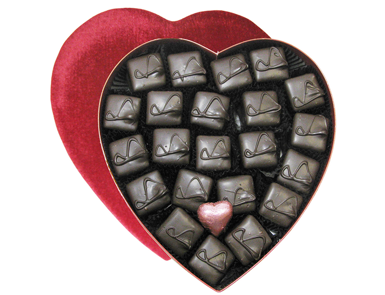 Crunchmallow  Heart-1.45 lbs.
