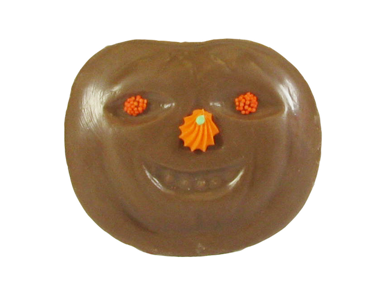 Solid milk chocolate Pumpkin Face.