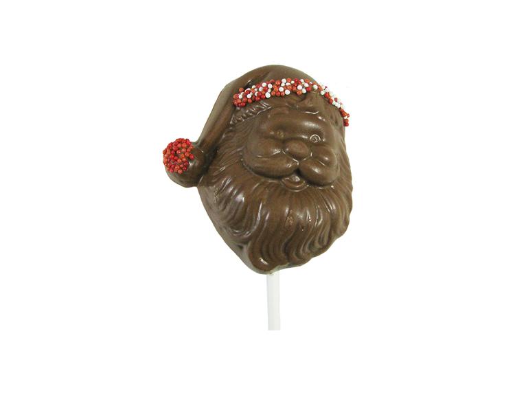 Santa Face  Lollipop