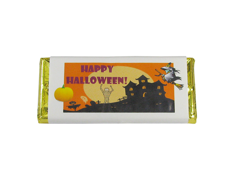Halloween Chocolate Bar- 1.5 ozs.