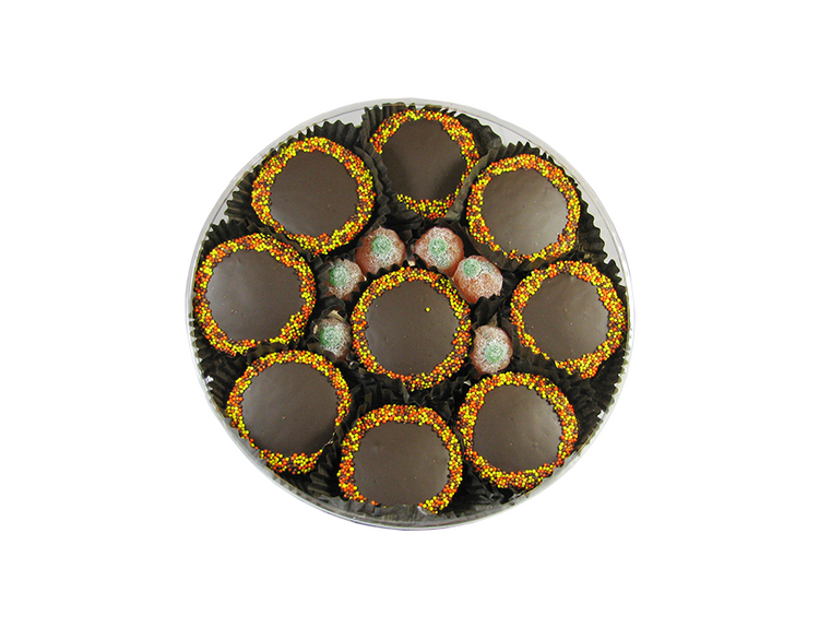 Thanksgiving Oreo Round  Box
