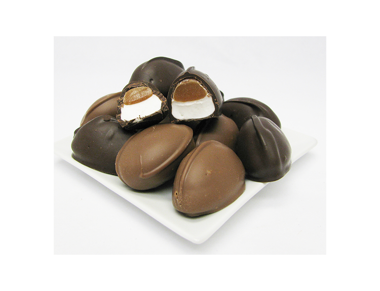 Caramel Marshmallow Eggs