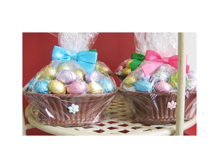 Chocolate Basket Small
